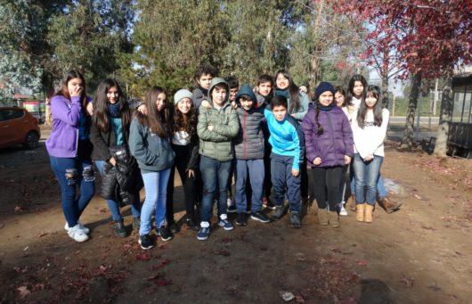 ESCOLARES IDENTIFICAN ANFIBIOS Y REPTILES EN PELIGRO DE EXTINCIÓN DE LA ZONA CENTRAL DE CHILE