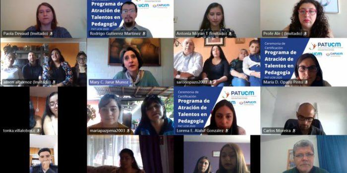 34 ESTUDIANTES DE CUARTO MEDIO PODRÁN ESTUDIAR  PEDAGOGÍA GRACIAS A PROGRAMA DE ATRACCIÓN DE TALENTOS